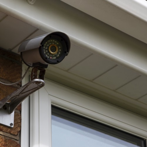 CCTV security camera for home security & surveillance.